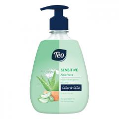 Teo Sensitive Течен сапун за чувствителна кожа с алое вера 400 мл
