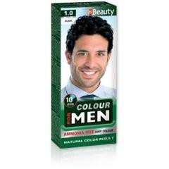 MM Beauty Боя за коса за мъже без амоняк,1.0 Черен