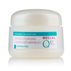 Regal Q10 Дневен овлажняващ крем против бръчки за нормална и смесена кожа 50 мл