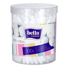 Bella Cotton Клечки за уши в кръгла кутия х 100 бр