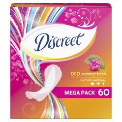 Discreet Deo summer fresh Ежедневни дамски превръзки 60 бр