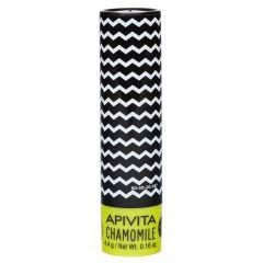 Apivita Lip Care Стик за устни с лайка SPF15 4.4 гр