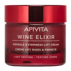ApivitaWine Elixir Коригиращ бръчките и стягащ дневен крем с лека текстура 50 мл