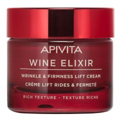 ApivitaWine Elixir Коригиращ бръчките и стягащ дневен крем с богата текстура 50 мл