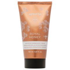 Apivita Royal Honey Богат хидратиращ и релаксиращ крем за тяло с мед 150 мл