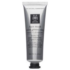 Apivita Express Beauty Почистваща маска за лице със зелена глина 50 мл