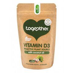 Together Health Витамин D3 с кокосово масло х30 капсули
