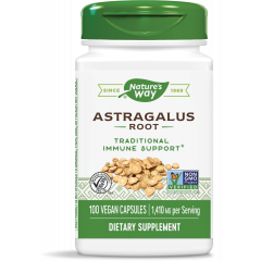 Nature's Way Astragalus Корен от Астрагал мощен имуностимулатор и адаптоген 470 мг х60 V капсули