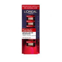 Loreal Revitalift Laser Renew Ампули за лице за гладка и сияйна кожа 7х1.3 мл