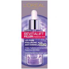 Loreal Revitalift Filler Серум за лице против бръчки с хиалуронова киселина 30 мл