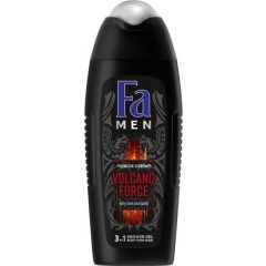 Fa Men Polynesia Elelments Volcano Force Мъжки душ-гел за лице, тяло и коса 400 мл