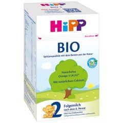 HiPP 2 BIO мляко за кърмачета 600 гр