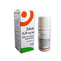 Zabak Капки за очи 0,25 мг/мл 5 мл Laboratories THEA