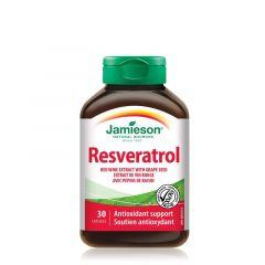 Jamieson Resveratrol Ресвератрол за антиоксидантна защита х 30 капсули