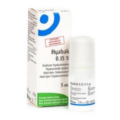 Hyabak Protector Капки за очи 0,15% 5 мл Laboratories THEA