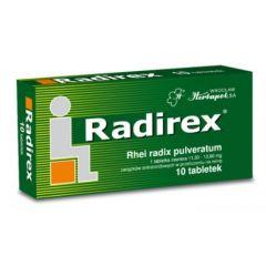 Radirex при запек 10 таблетки Herbapol