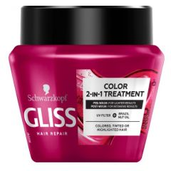 Gliss Ultimate Color 2in1 Treatment Маска за боядисана коса 300 мл