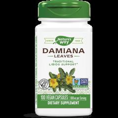Nature's Way Damiana Leaves Лист от Дамиана за поддържане на сексуалното желание 400 мг х100 капсули