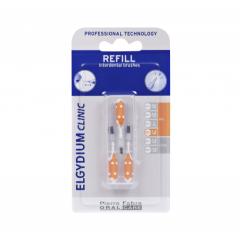 Elgydium Clinic Refills допълнителни интердентални четки тесни пространства оранжеви 2.7-3.5 мм