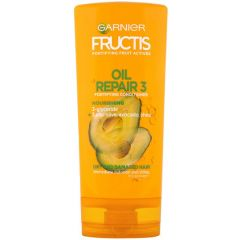 Garnier Fructis Oil Repair 3 Укрепващ балсам за суха и увредена коса с комплекс от 3 масла 200 мл
