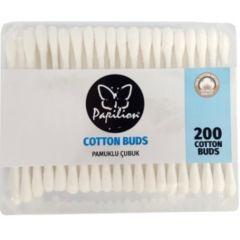 Papilion Cotton Buds Клечки за уши Кутия 200 бр