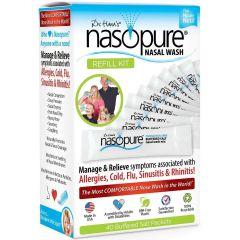 Nasopure Refill Kit Сашета за носни промивки 40 бр Dr. Hanas