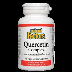 Natural Factors Quercetin Complex – антиоксидантно и противовъзпалително действие 466 мг х 90 капсули