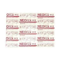 Neoplast Neofilm Лепенка за бебешко пъпче водоустойчива 6/7 см 10 бр