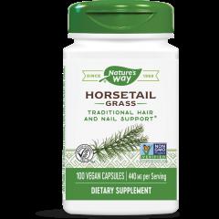 Nature's Way Horsetail Grass Трева от Полски хвощ за здрави пикочни пътища 440 мг х100 V капсули
