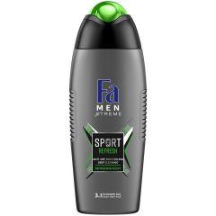 Fa Men Xtreme Sport Душ-гел за мъже 3в1 за коса, лице и тяло 400 мл