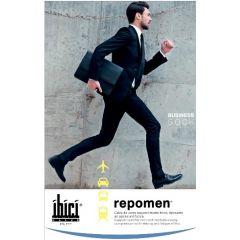 Segreta Repomen Компресивни мъжки чорапи за разширени вени Черни Размер L Ibici