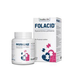 Healthy Life Folacid За бъдещи майки x120 таблетки