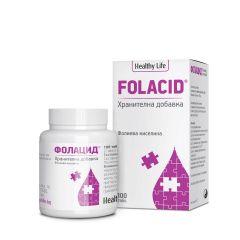 Healthy Life Folacid За бъдещи майки x100 таблетки