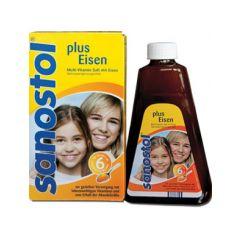 Sanostol Мултивитаминен сироп с желязо за деца над 6 години 230 мл Takeda