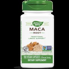 Nature's Way Maca Root Мака корен за повишаване на енергията и либидото 525 мг х100 V капсули