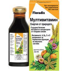 Floradix Мултивитамин 250 мл