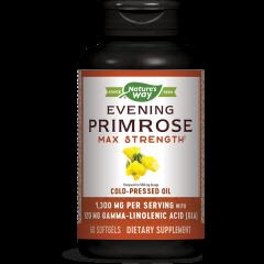 Nature's Way Primrose Max Strength в подкрепа на женското здраве 1300 мг х60 софтгел капсули