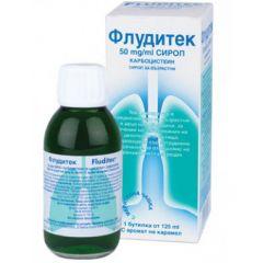 Флудитек сироп за възрастни 5% 125 мл Innotech