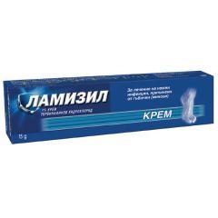 Ламизил Крем за лечение на кожни инфекции, причинени от гъбички (микози) 1% х15 грама GlaxoSmithKline