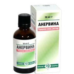Анервина при раздразнителност и тревожност 50 мл  Chemax Pharma