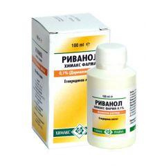 Риванол 0,1 % 100 мл Chemax Pharma