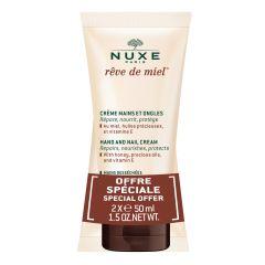 Nuxe Reve de Miel Подхранващ крем за ръце и нокти 2 х 50 мл Комплект