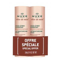 Nuxe Reve de Miel Подхранващ стик за устни 2 х 4 гр Комплект