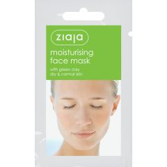 Ziaja Moisturising Face Mask Жая Хидратираща маска за лице със зелена глина саше 7 мл