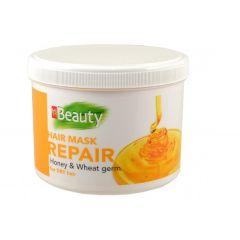 MM Beauty Възстановяваща маска за суха коса с екстракт от мед и масло от пшеничен зародиш 500 мл
