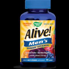 Nature's Way Alive Men's Алайв витамини за мъже х75 желирани таблетки