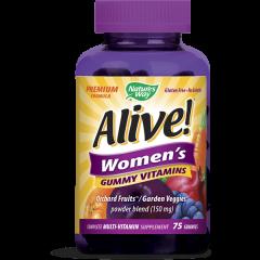 Nature's Way Alive Women's Алайв мултивитамини за жени х75 желирани таблетки