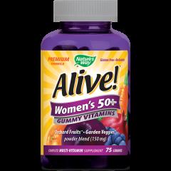 Nature's Way Alive Women's 50+ Алайв мултивитамини за жени 50+ 150 мг  х75 желирани таблетки