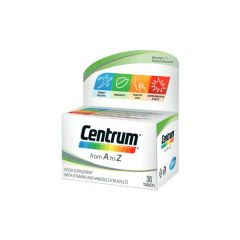 Centrum A-Z Витамини и минерали за възрастни х30 таблетки
