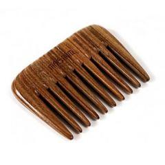 Solingen Magnum Natural Гребен за коса от гваяково дърво с едри зъби 308